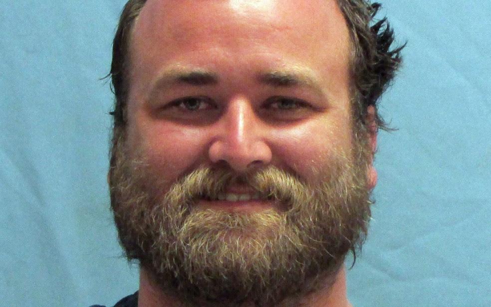 Michael Tate Reed em foto divulgada pelo gabinete do xerife do condado de Pulaski, na quarta (28) (Foto: Pulaski County Sheriff's Office via AP)