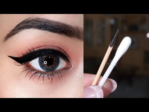 Kashee's Inspired Eyeliner in Few Seconds Tutorial, Easy Tips To Apply