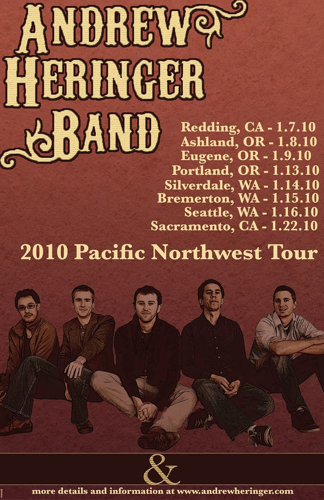 Andrew Heringer Band 2010 Pacific Northwest Tour