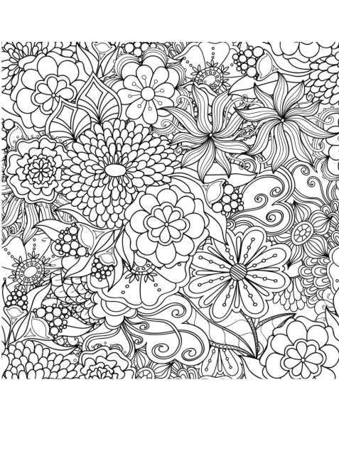 Großartig Mandala Blume Malvorlagen Schwierig Ideen - Ideen färben ...