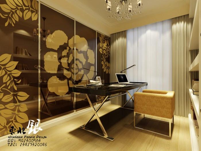 chinese modern workspace