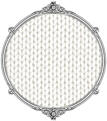 light cream knitting paper SAMPLE