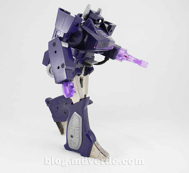 Transformers Shockwave G1 - modo robot