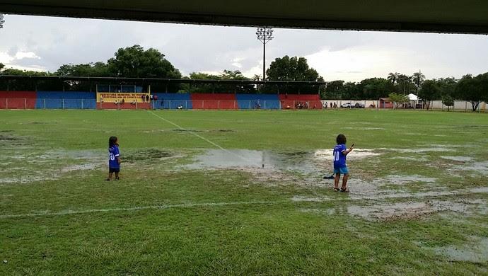Estádio Neco Falcão, Poconé (Foto: Assessoria/Luverdense Esporte Clube)