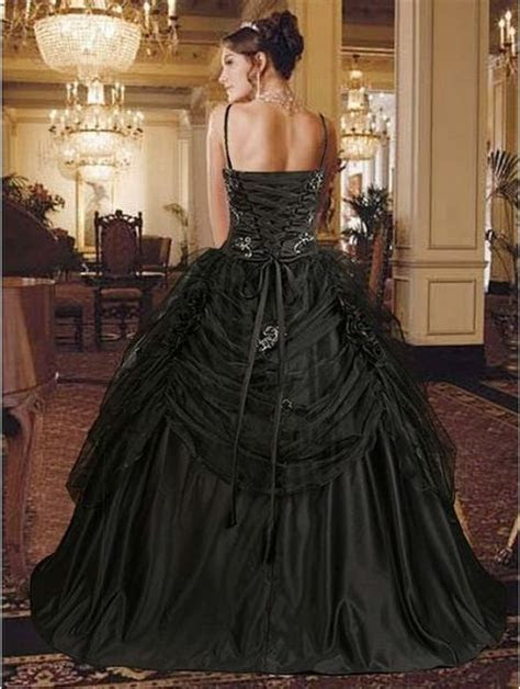 17 Best ideas about Black Wedding Dresses on Pinterest