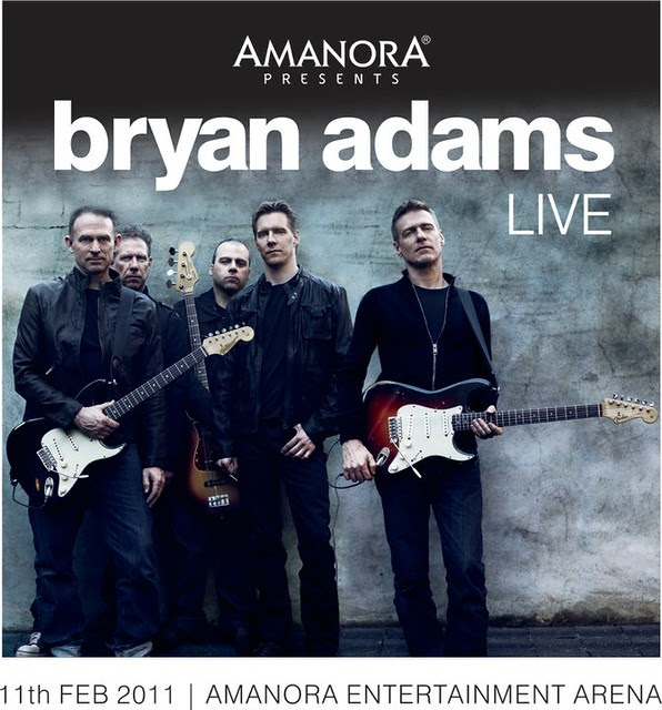 Bryan Adams in Pune by Amanora Park Town