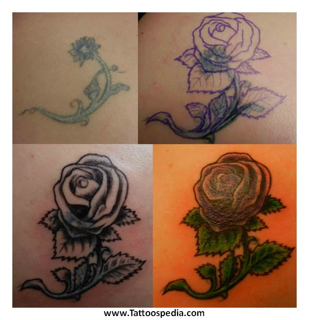 White Ink Tattoos Cover Ups 3