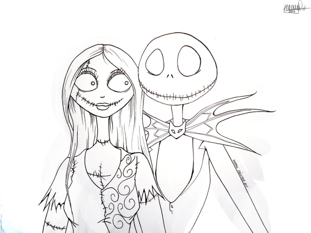 The Best Free Jack Skellington Drawing Images Download From 2010