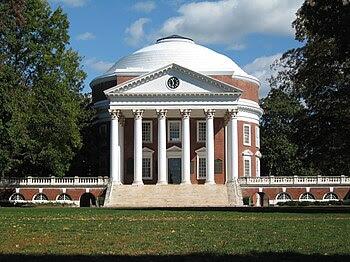 The Rotunda at the University of Virginia. Cha...