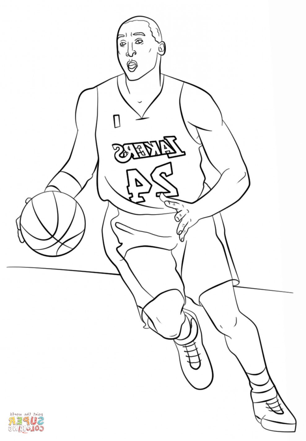 Michael Jordan Coloring Pages at GetColorings.com | Free ...