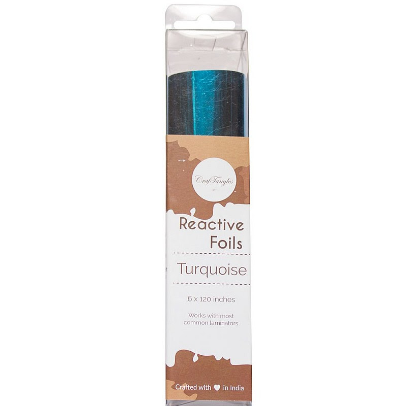 Turquoise Reactive foil