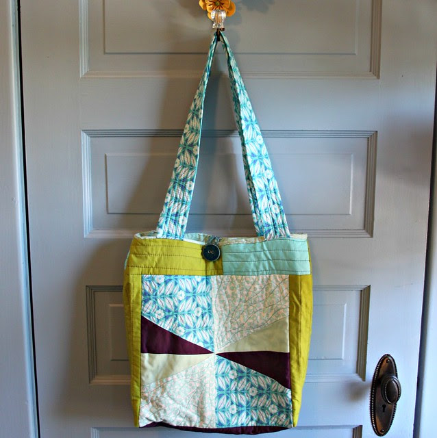 Quilt-as-you-goTote Bag