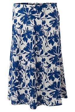East Floral Linen Skirt