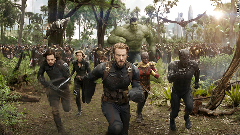 'Avengers: Infinity War' assembles biggest box office opening ever --
