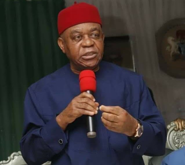 Theodore Orji condemns burning of police station in Aba