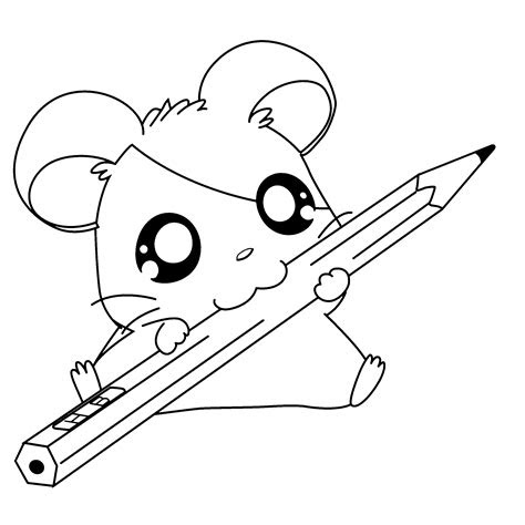 coloring pages  big eyed animals