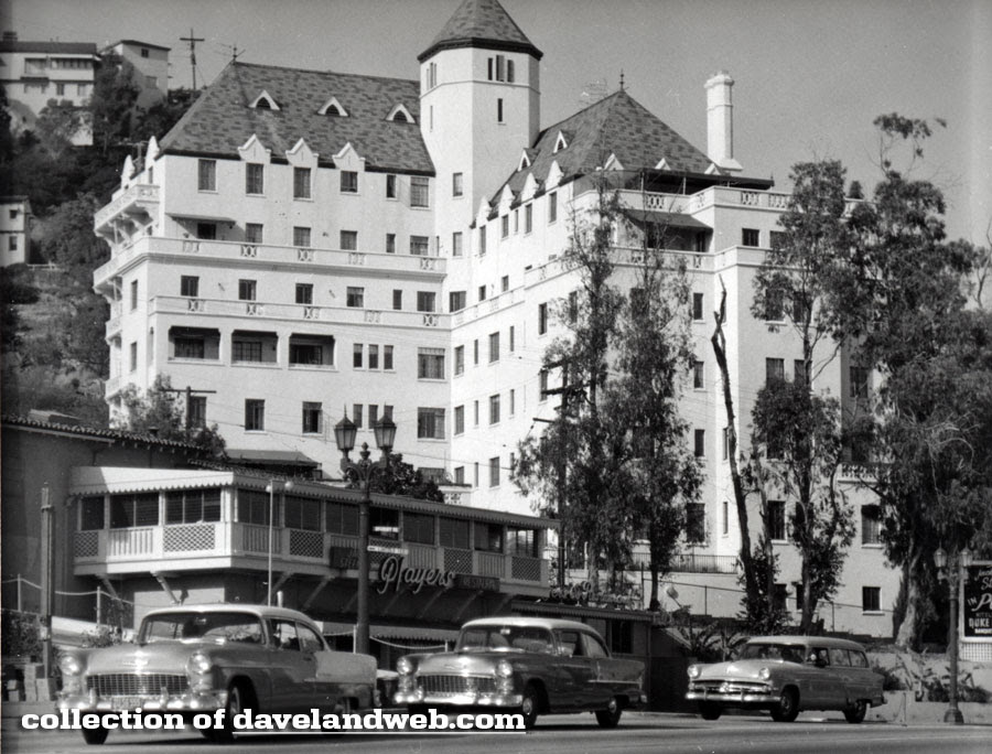 Vintage Chateau Marmont photo, pre-1953