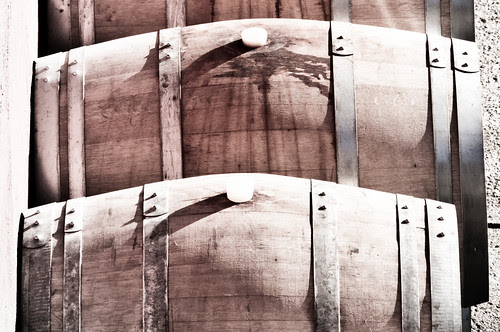 Barriques in the sun