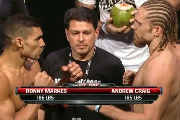 Potiguar afirma que preparação feita em Natal, RJ e SP o fez evoluir muito para enfrentar Andrew Craig. Luta está no Card Preliminar do UFC disputada hoje na capital paulista