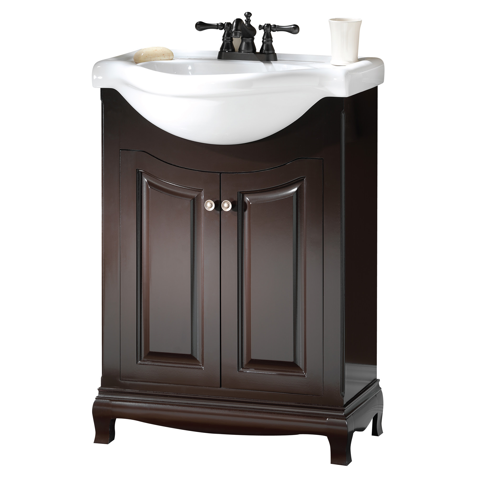 Palermo 26 Euro Bath Vanity With Vitreous China Top Burroughs Hardwoods Online Store
