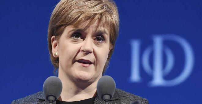 Nicola Sturgeon buscará la aprobación para la convocatoria de un segundo referéndum de independencia de Escocia. EFE