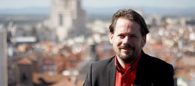 El secretario Nacional del Parti de Gauche, François Delapierre.- CHRISTIAN GONZÁLEZ