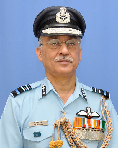 AIR MARSHAL PR SHARMA AVSM TOOK OVER AS AOP by Chindits