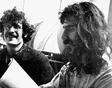 Walley with Frank Zappa