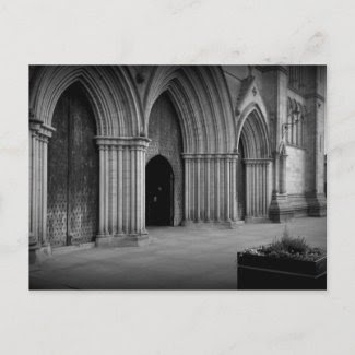 Ripon Cathedral Holga-ish postcard