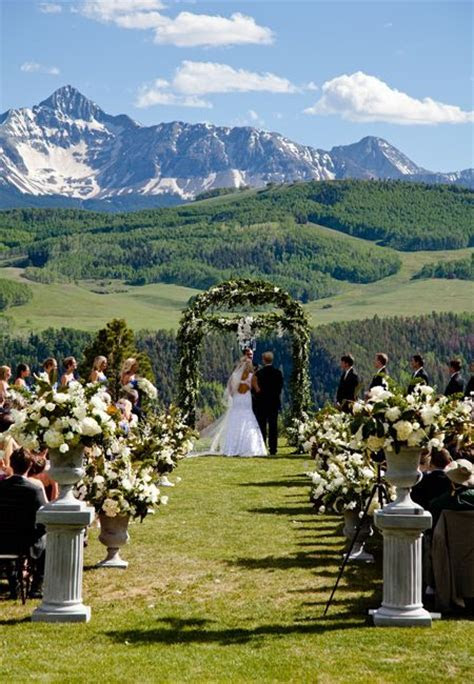 A Rustic, Elegant Mountain Wedding in Telluride, Colorado