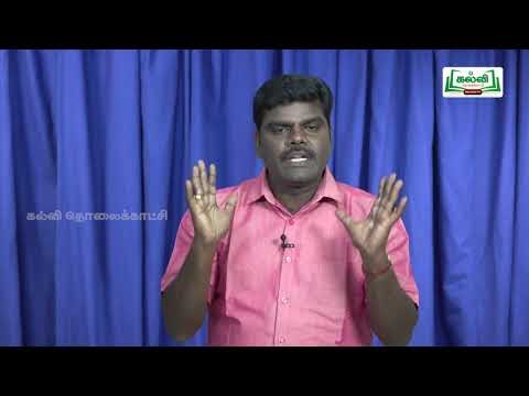 முப்பரிமாணம் Std 12 TM  Maths Differential Calculus Usage Kalvi TV