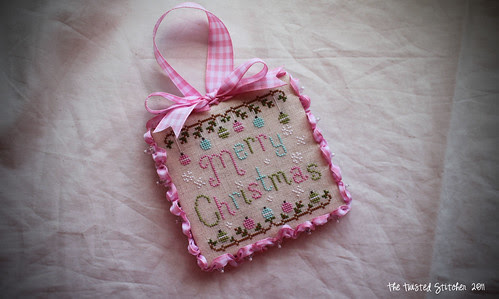 CCN Merry Christmas Ornament