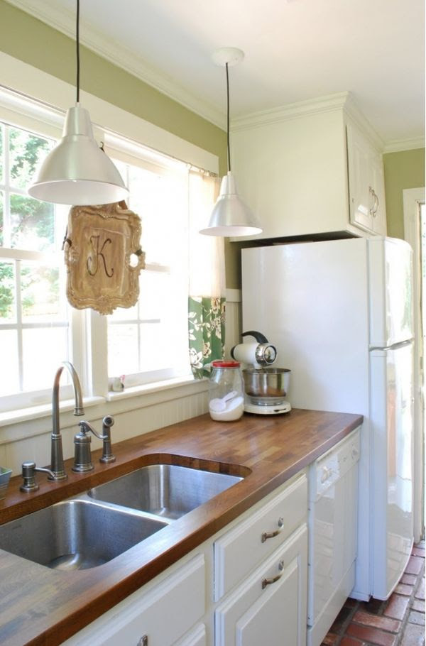 Stylish Kitchens with White Appliances - They Do Exist!
