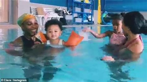 Serena Williams and Ciara teach their daughters French