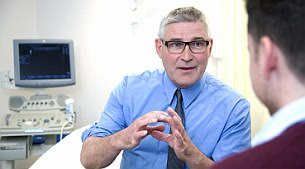 Christopher Ogden is a surgeon at the Royal Marsden Hospital in London
