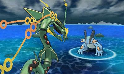 Ο Rayquaza είναι από τα pokemon που αποκτούν mega evolution.
