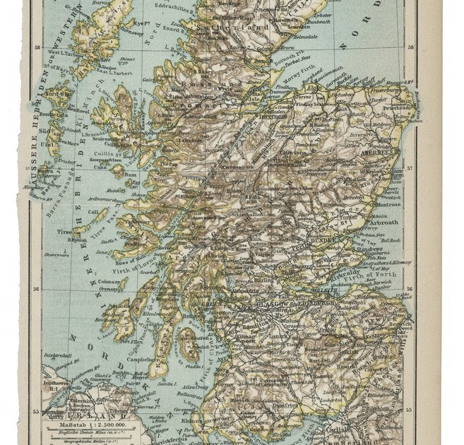 evmestycor: Map Of Scotland In Europe