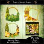 Clusters Frame - Honey Bee