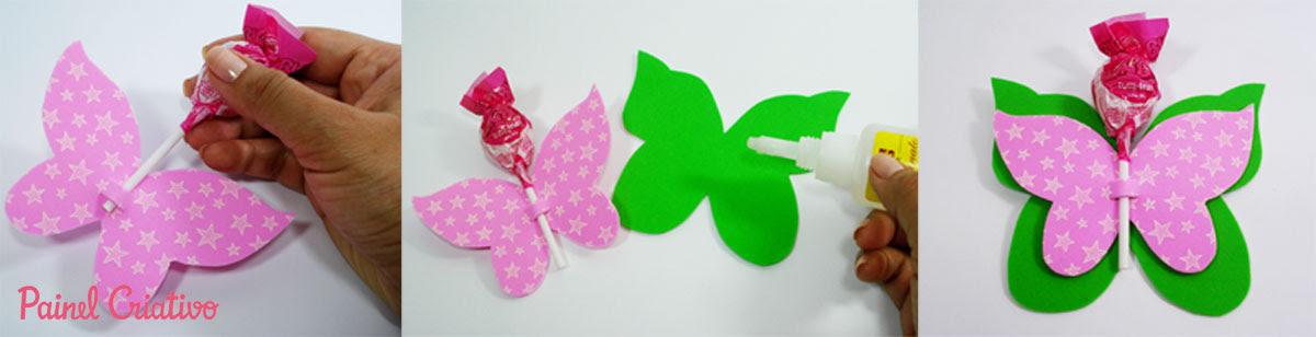 como fazer lembrancinha EVA borboletinha porta pirulito dia das criancas volta as aulas festa aniversario infantil (6)