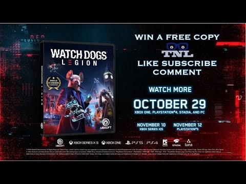 Ready to Win A Free Version of Watch Dogs: Legion?