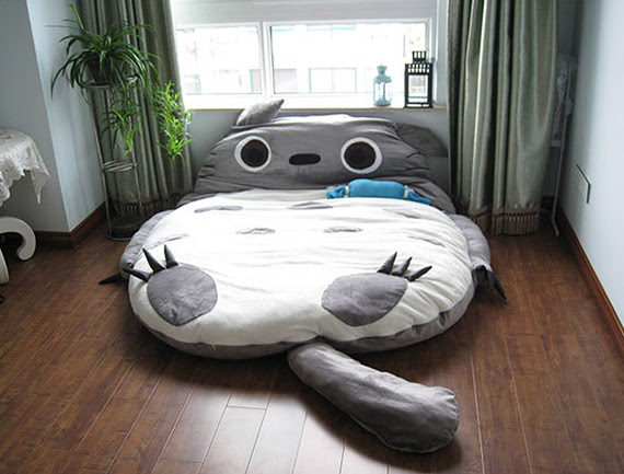 Sleep Tight In A Totoro Bed