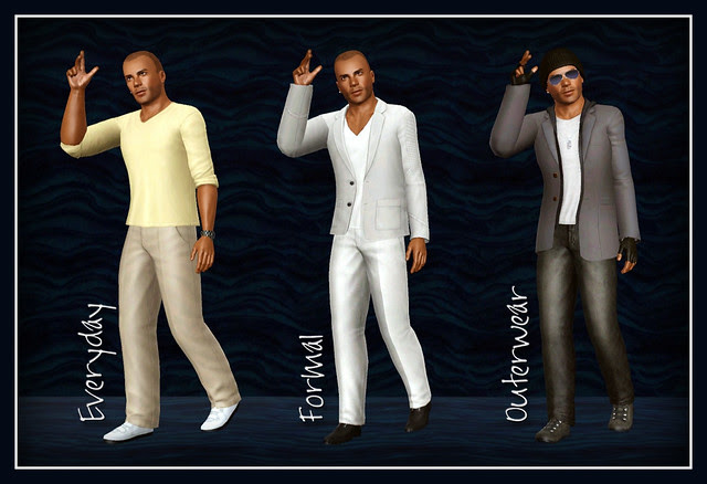 Shemar Moore -  Clothing