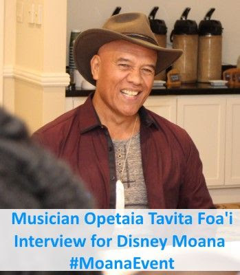 Opetaia Foa'i Interview for Disney Moana Music