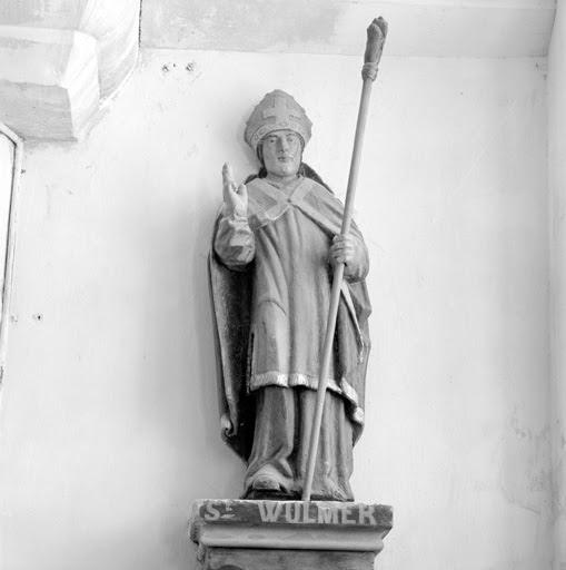 Saint Vulmer. Abbé bénédictin dans la région de Boulogne (8ème s.)