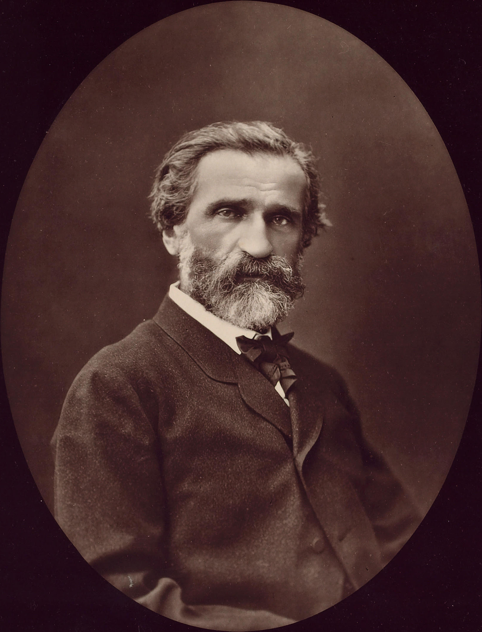 Picture of Giuseppe Verdi. taken by Carjat, Et...