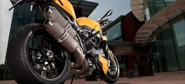 Ducati lanzará en noviembre su sofisticada Streetfighter 848