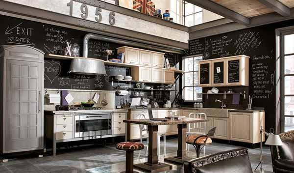 Lovely Retro Kitchen Design Ideas