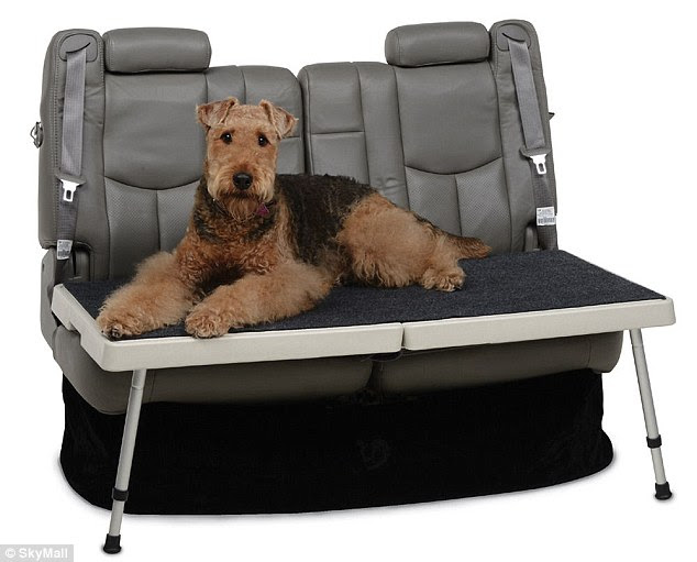 The £78 All-In-One-Carrier fits in the backseat of a four-door vehicle and is designed to carry pets or groceries
