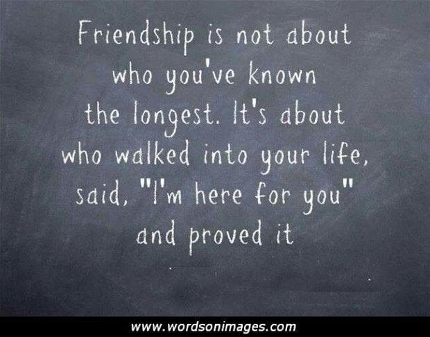 Famous Quotes About Friendship. QuotesGram