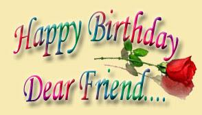 Group Of Wallpaper Happy Birthday Dear Friend